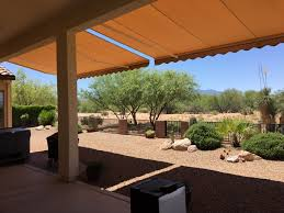 retractable awnings tucson az oro valley