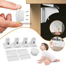 kitchen cupboard door child locks 12pcs baby safety magnetic cabinet locks invisible child proof cupboard drawer