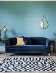 Velvet Sofa Bed Blue Velvet Sofa Ideas For Creating A Royal Living Room