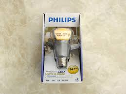 philips ambientled a19 12 5w led bulb review led resource