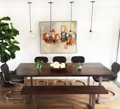 Diy Dining Room by Diy Modern Dining Table And Modern Bench Design Intervention Diary