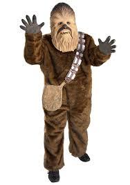 Star Wars Halloween Costumes Adults Child Deluxe Chewbacca Costume Kids Star Wars Halloween Costumes