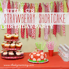 Little C s Strawberry Shortcake Birthday Party Free Water