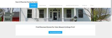 new real estate website launched search homes for sale in maumee