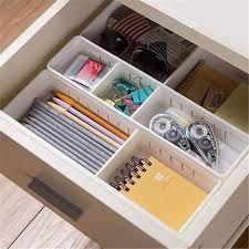 organisateur de tiroir bureau réglable tiroir organisateur en plastique boîte de rangement