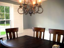 dining room color schemes with chair rail dining room decor