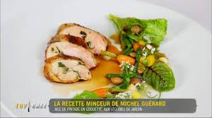 recettes cuisine michel guerard la recette minceur de michel guérard