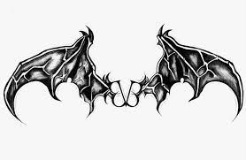 dark black batman symbol tattoo on chest photos pictures and