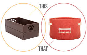 Make Your Own Dog Toy Box by Stylish Dog Products Modern Baskets For Dog Toys Pawsh Magazine