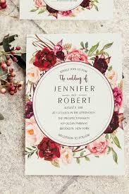 best 25 floral wedding invitations ideas on pinterest wedding