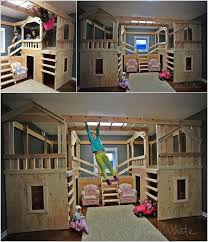 Diy Bunk Bed With Desk Under by Best 25 Toddler Loft Beds Ideas On Pinterest Bunk Beds For