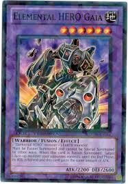 elemental hero gaia yu gi oh fandom powered by wikia