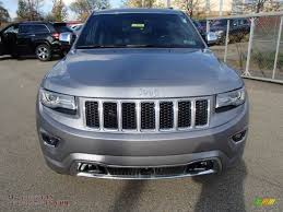 jeep billet silver metallic 2014 jeep grand cherokee overland 4x4 in billet silver metallic