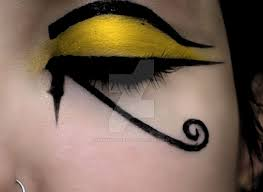 eye of horus 2 by pammyschakall on deviantart