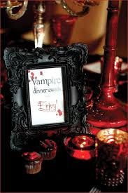 Black And Red Party Decorations 26 Cool Vampire Halloween Party Decor Ideas Digsdigs