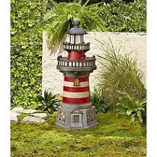 Lighthouse Garden Decor Have To Have It Pine Top Red Lighthouse Garden Decor 34 99 For