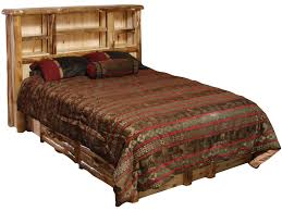 Aspen Bookcase Beartooth Aspen Log Furniture Collection Aspen Bedroom Furniture