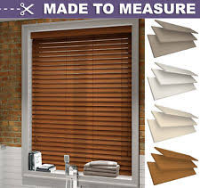 Made To Measure Venetian Blinds Wooden Unbranded Wooden Conservatory Made To Measure Blinds Ebay