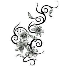 Flower Tattoos On - designs gallery of unique printable tattoos pictures and ideas