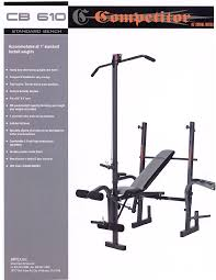 impex home gym cb 610 user guide manualsonline com