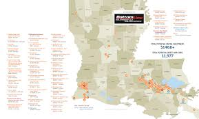 Louisiana Parishes Map Maps Of The Largest Projects Driving The Louisiana Industrial Boom