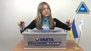 аккумулятор varta promotive blue 140ah 12v 800a youtube