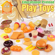 jeux de simulation de cuisine 4 53 minitudou plastic food pretend play kitchen
