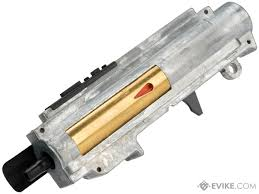 complete electric blowback gearbox upper for ics m4 airsoft aegs
