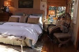 bright seagrass headboardin bedroom shabby chic with pretty