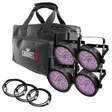 chauvet dj slimpack 56 lt led par can lighting package