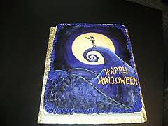nightmare before christmas cake decorations inspired cakes and ideas for spooky cakes