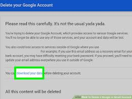 how to delete gmail account on android 2 simple ways to delete a or gmail account wikihow