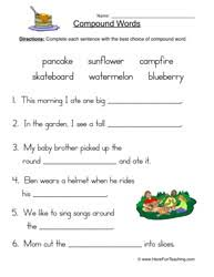 compound words worksheet 3 worksheets teaching vocabulary and