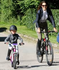 bicycle boots crown princess mary and her children enjoy a bike ride in grasten