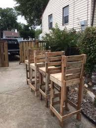 diy pallet high bar stools u2022 1001 pallets