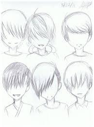 cool anime guy hairstyles fade haircut