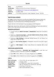 useful php resume sample for freshers for sample resume for