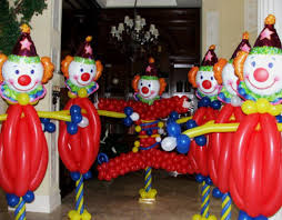 clown balloon l circus balloon decoration by dreamark events fort lauderdale