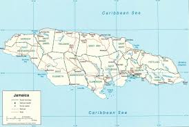 Portland Australia Map by Map Of Jamaica Caribbean Sea