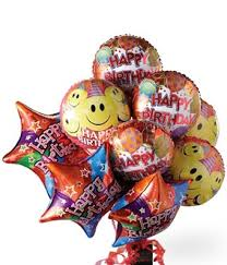 mylar balloon bouquet happy birthday balloon bouquet at from you flowers