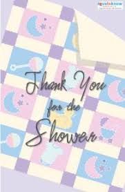 thank you card for baby shower baby shower thank you cards lovetoknow