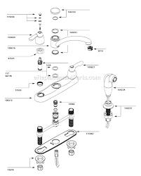 moen kitchen faucets parts diagram moen 7907 parts list and diagram ereplacementparts inside moen