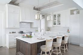 white kitchen cabinets with island painted white kitchen with wood island cabinets