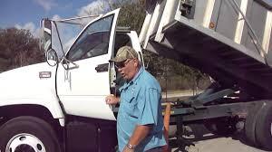 2002 gmc c 7500 dump truck with aluminum dump body youtube