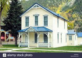 home of russian princess 1883 in historic silverton colorado usa