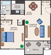 thebluffs 1br jpg click on any of the floor plans below for a full sized image all dimensions are approximate