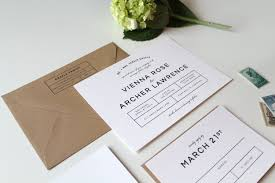 modern wedding invitations bold modern wedding invitation suite two