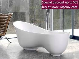 customized freestanding white marble granite bathtub surface 54