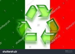 Flag Italy Flag Italy National Country Symbol Illustration Stock Illustration