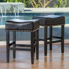 round bar stools wooden stool seagrass counter stools leather